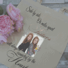 Personalised Side By Side Sisters Tote Bag With Rose Gold Vinyl Lettering