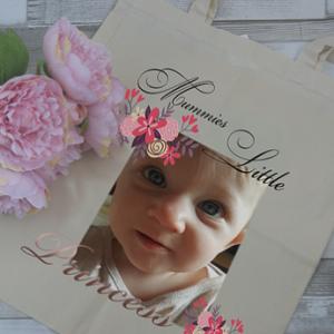 personalised mummies little tote bag