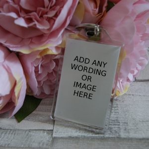 Personalised Design Your Own Keyring