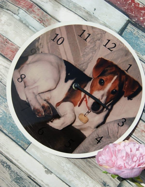 Personalised Photo Wooden Clock