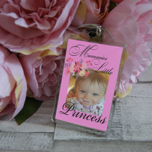 Personalised Mummies Little Princess Keyring
