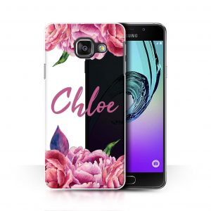 CUSTOM FLORAL TRANSPARENT - PINK FLOWERS CLEAR