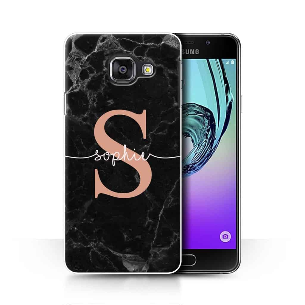 242c4d52d6 CUSTOM ROSE GOLD ENDLESS MARBLE - BLACK ROSE GOLD INITIAL NAME. Home /  Collection / Phone Cases