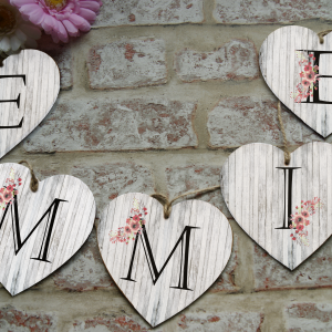 Personalised Floral Letter Bunting