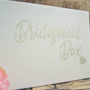 Personalised large wedding gift box