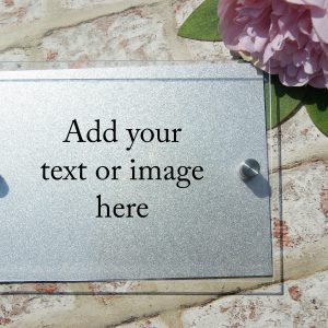design your own acrylic door sign