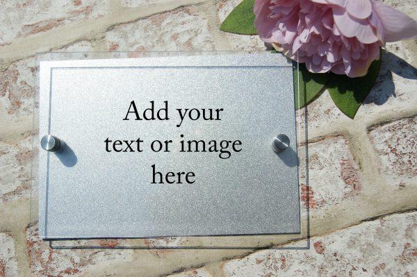 design your own acrylic door sign