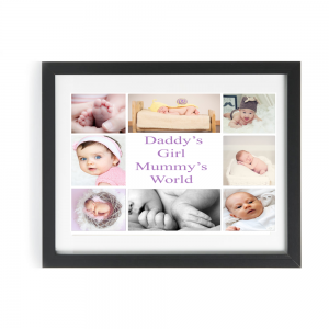 Personalised Daddy's Girl Mummy's World Design