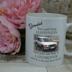 Personalised you can't buy happiness mug