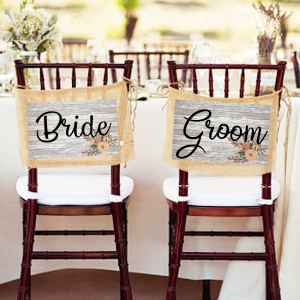 Personalised Wedding Hanging Signs