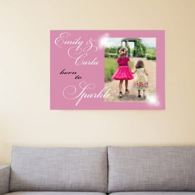 Personalised Born To Sparkle Design