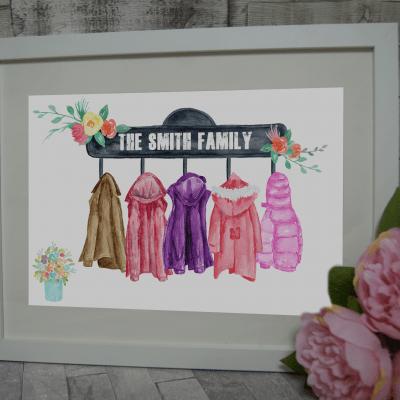 Personalised Family Coat Design