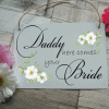 """Personalised """"Your Wording"""" Wedding Hanging Sign"""