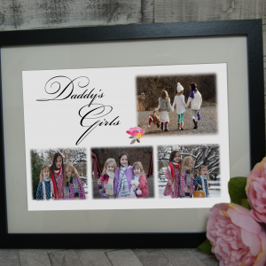 Personalised Daddy's Girls Design