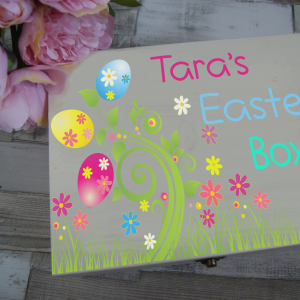 Personalised Easter Wooden Box