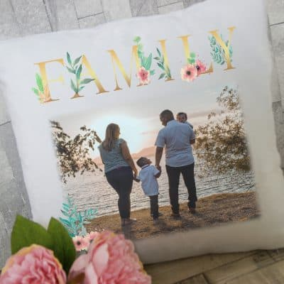 Personalised Family Cushion