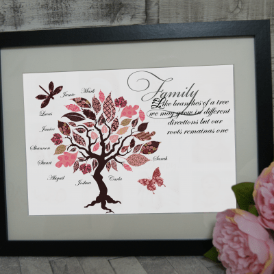 Personalised Family Tree Design