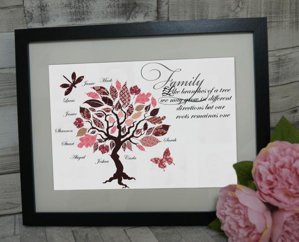 Personalised Family Tree Design