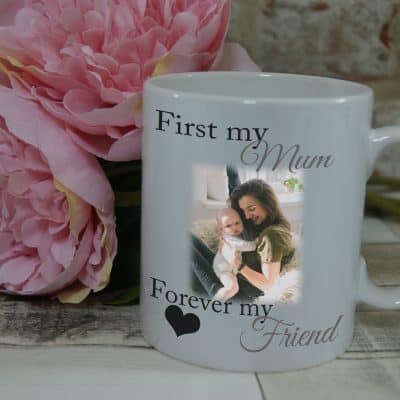 Personalised First My Mum Forever My Friend Mug
