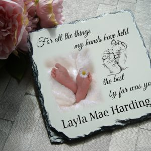 Personalised For All The Things I've Ever Held Slate