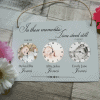 Personalised in these moments hanging sign