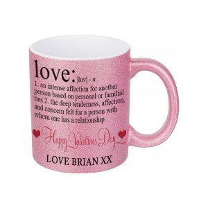 Personalised Love Noun Mug