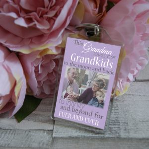 Personalised This Grandma Loves Her Grandkids Keyring