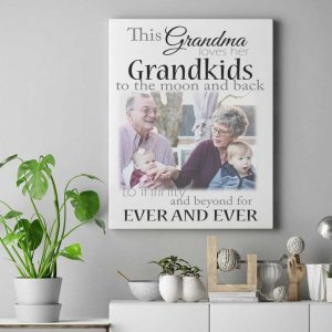 Personalised This Grandma Loves Her Grandkids Design