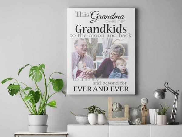 Personalised This Grandma Loves Her Grandkids Design