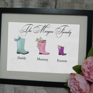 Personalised Welly Boot Design