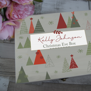 Personalised Christmas Tree Christmas Eve Box