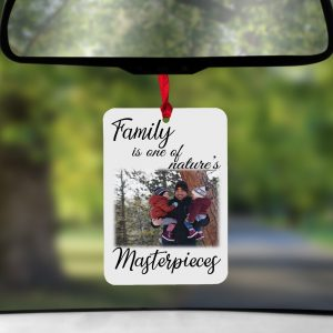 Personalised Family Is One Of Natures Masterpieces Air Freshener