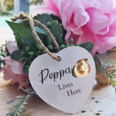 Personalised Pet Heart Ornament