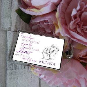 Personalised Baby & Infant Loss Keyring