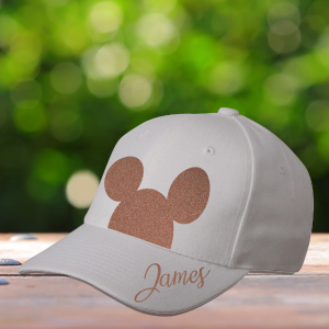 Personalised Mickey Mouse Ears Cap