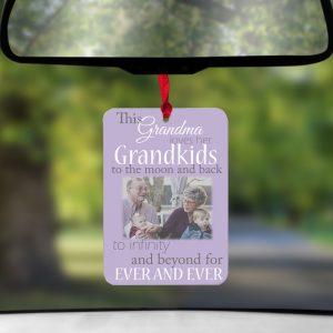 Personalised This Grandma Loves Her Grandkids Air Freshener