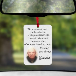 Personalised Time Cannot Heal Air Freshener