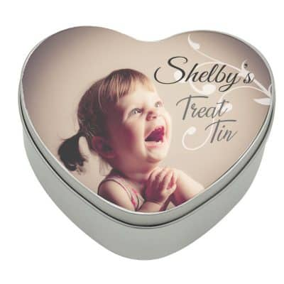 Personalised Heart Treat Tin