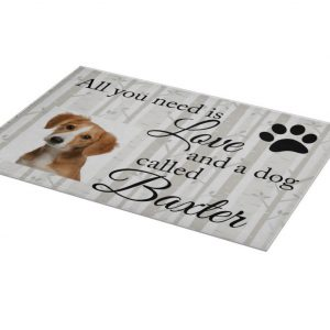 Personalised All You Need Is Love And A Dog Chopping Board
