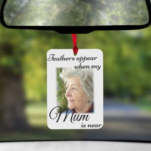 Personalised Feathers Appear Air Freshener