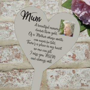 Personalised Miss You Mum Grave/Memorial Marker