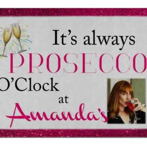Personalised It's Always Prosecco O'Clock Chopping Board