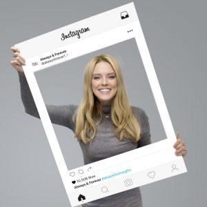 Personalised Instagram Selfie Frame