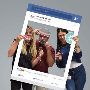 Personalised Facebook Selfie Frame