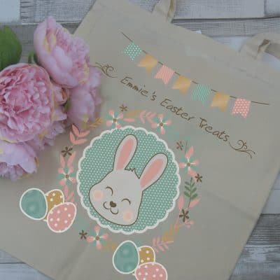 Personalised Easter Treats Tote Bag