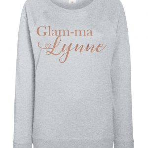 Personalised Adult Glam-Ma Jumper