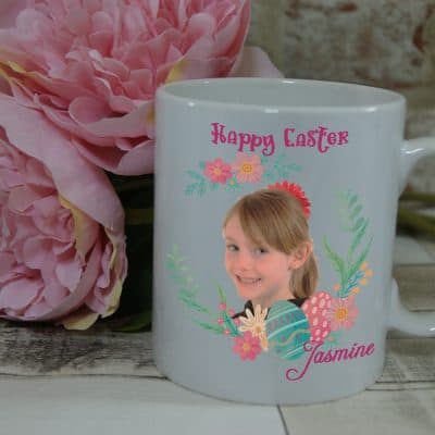 Personalised Happy Easter Mug