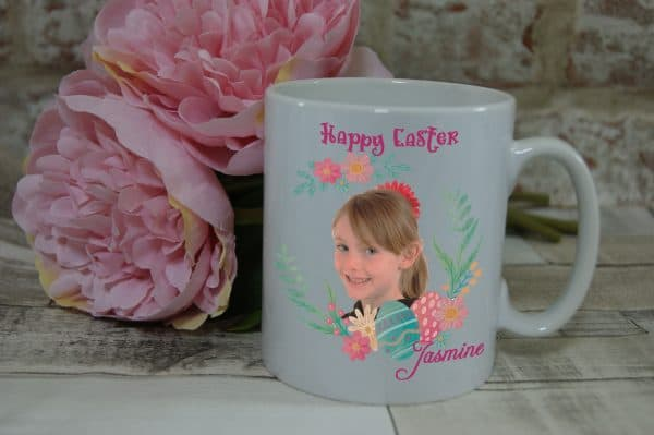 Personalised Happy Easter Mug
