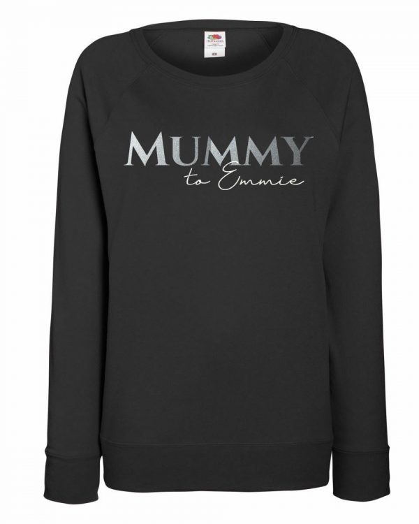 Personalised Adult Mummy To Jumper