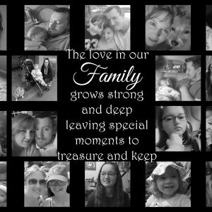 Personalised The Love In Our Family Design